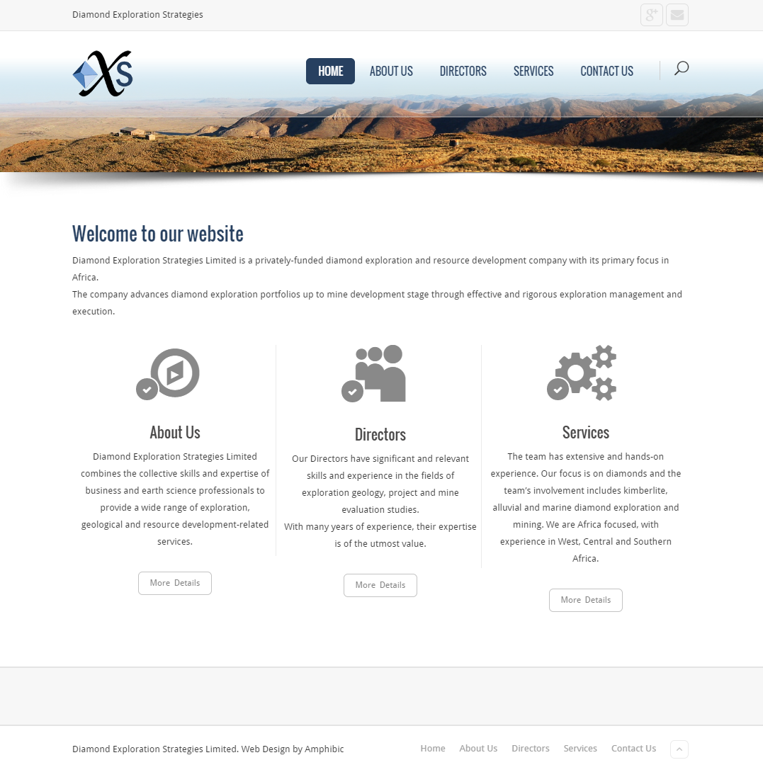 Diamond Exploration – Website
