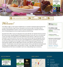 75_On_Milner_Lodge_Website Designed by Amphibic