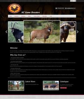 Amphibic Web Design Portfolio - NC Game Breeders