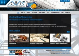 Central Roof Industries New Website
