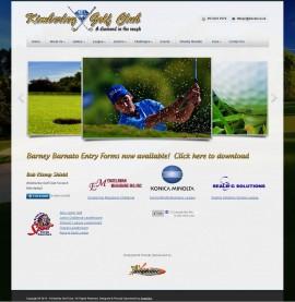 Amphibic Web Design Portfolio - Kimberley Golf Club - Home Page
